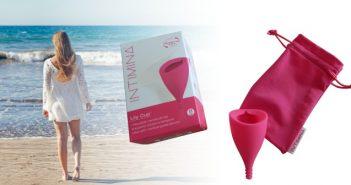 INTIMINA Lily cup menstrualna čašica, pakiranje i vrećica za čuvanje