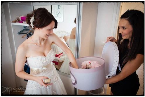 luksuzna vjenčanja, poklon za mladenku