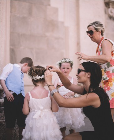 luksuzna vjenčanja, djeca