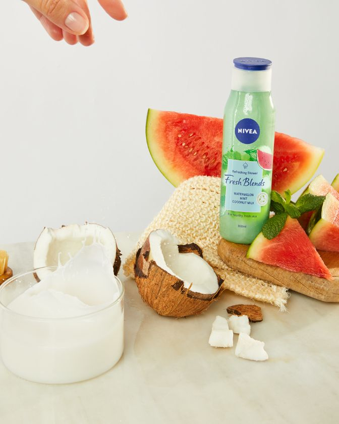 NIVEA Fresh Blends Watermelom gel za tusiranje