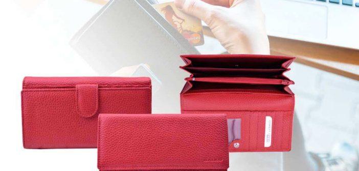 Galko RFID crveni novcanik
