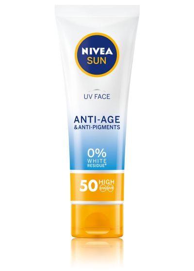 NIVEA SUN Q10 Anti-Age & Anti-Pigments krema za lice SPF 50