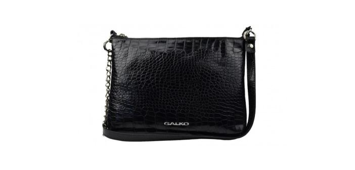 crna kroko torbica