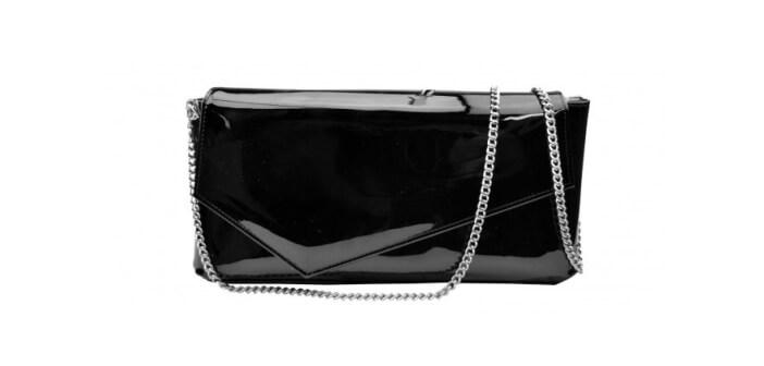 crna lak torbica