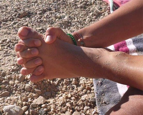 vjezba razdvajanja prstiju stopala