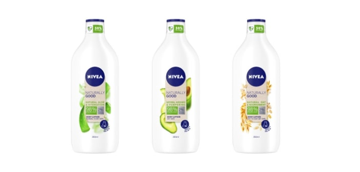 NIVEA Naturally good losioni za tijelo