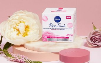 NIVEA Rose Touch dnevna gel krema 1