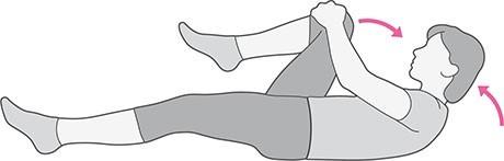 Podizanje koljena (istezanje)