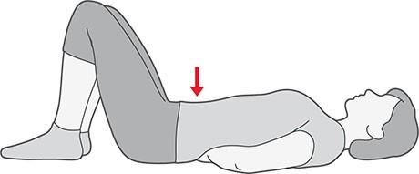 Vjezba za trbusne misice zdjelicnog dna (jacanje - stabilizacija)