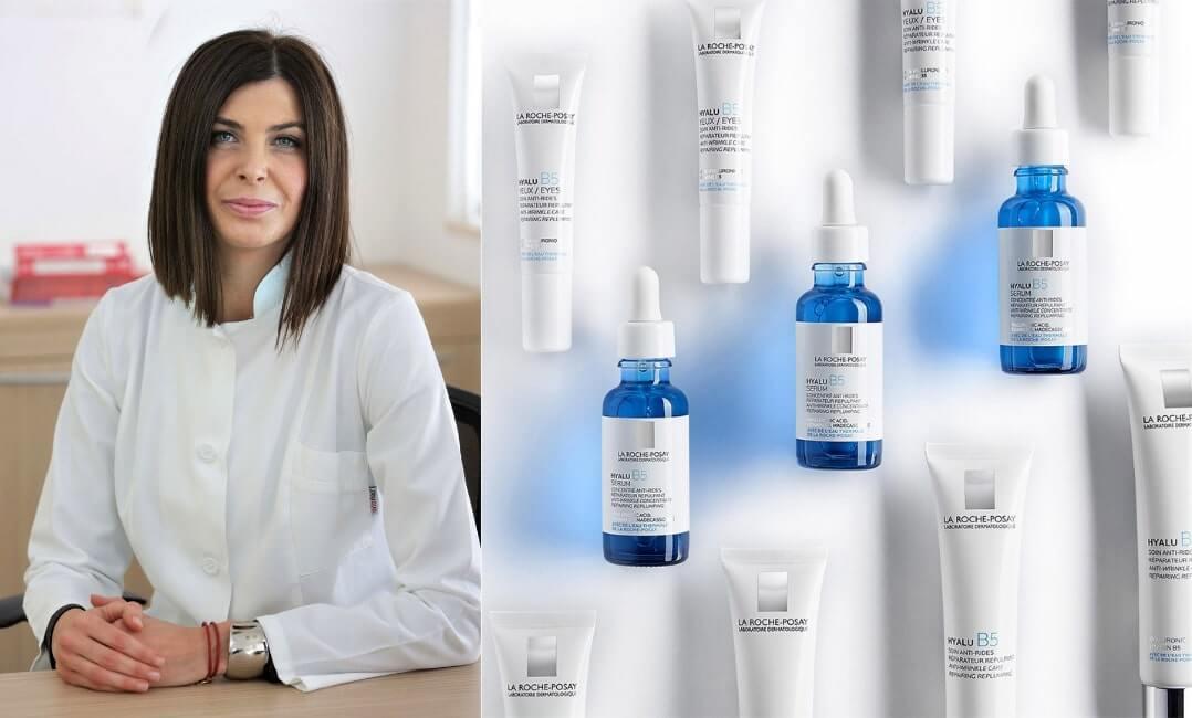 Hyalu B5 hidratantna krema i njega za podrucje oko ociju, Jelena Mestrovic Stefekov dr. med. spec. dermatovenerologije