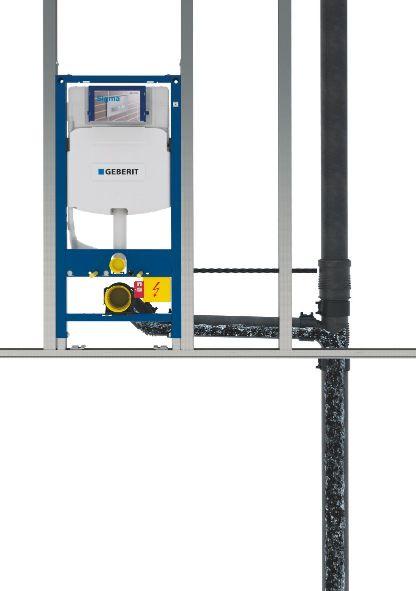 GEBRIT sistem cijevi odvojenih od zida
