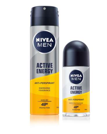 NIVEA MEN Active Energy antiperspirant