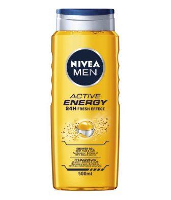 NIVEA MEN Active Energy gel za tusiranje