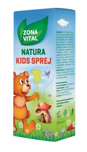 natura kids sprej, zaštita od komaraca