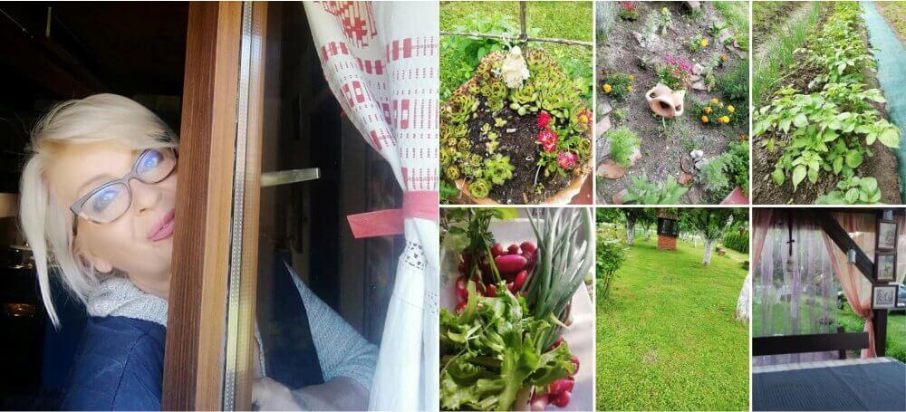 vrtlarenje, Dubravka u svom vrtu
