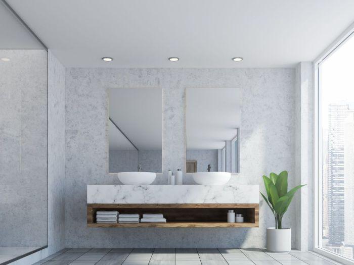 Dekorativno bojenje zidova u kupaonici