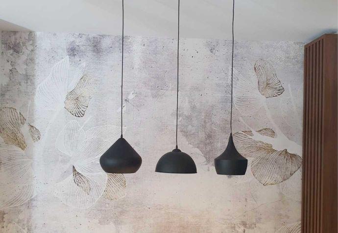 dekorativni uzorak na zidu